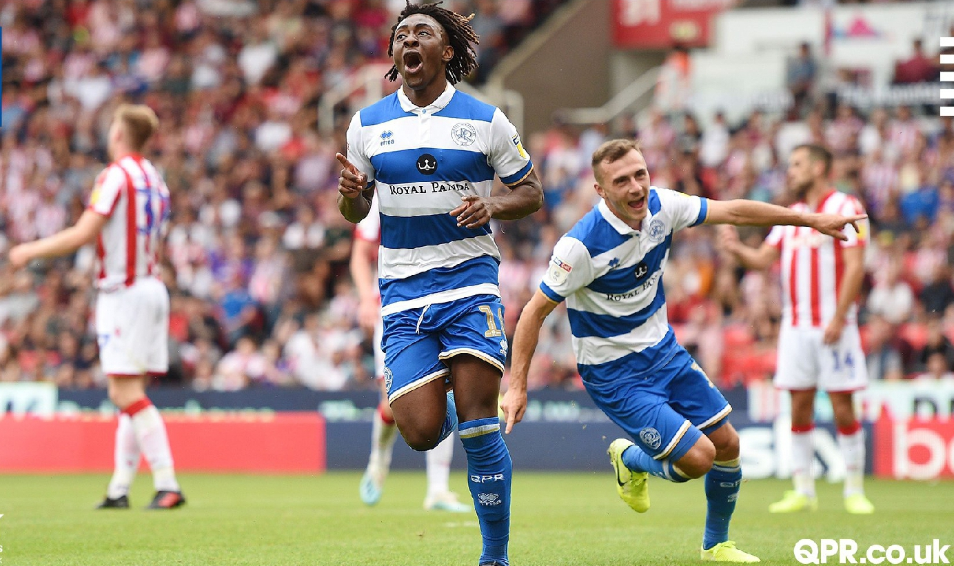 Championship: Eze On Target In QPR Away Win Vs Etebo's Stoke City