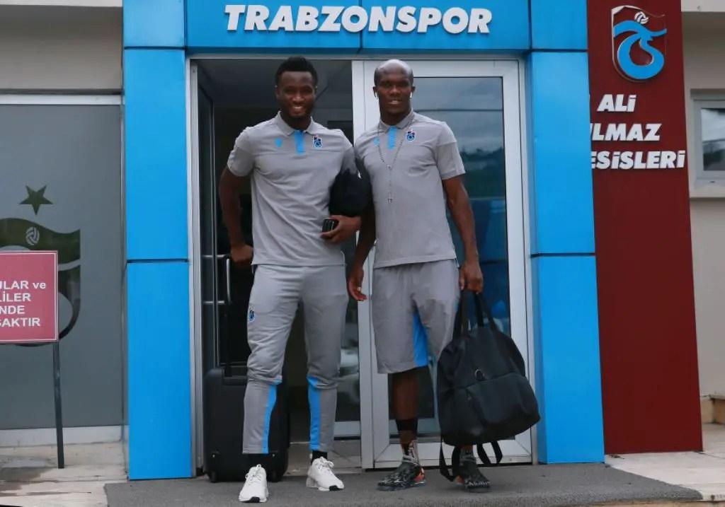 Mikel Lands In Prague, Set For Trabzonspor Debut In Europa Clash Vs Sparta