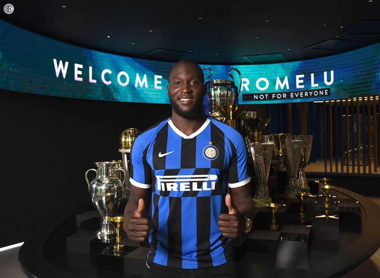 Lukaku Joins Inter Milan From Man United On Five-Year Deal