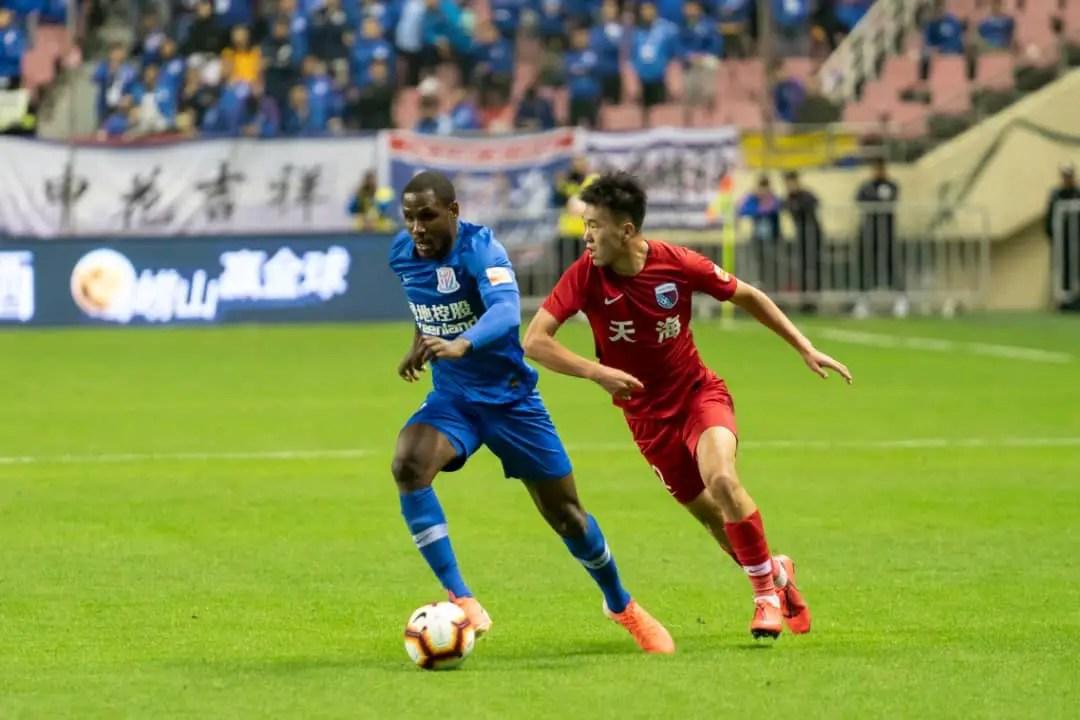 Shanghai Shenhua To Sanction Ighalo For Violating Club's Social Media Rules