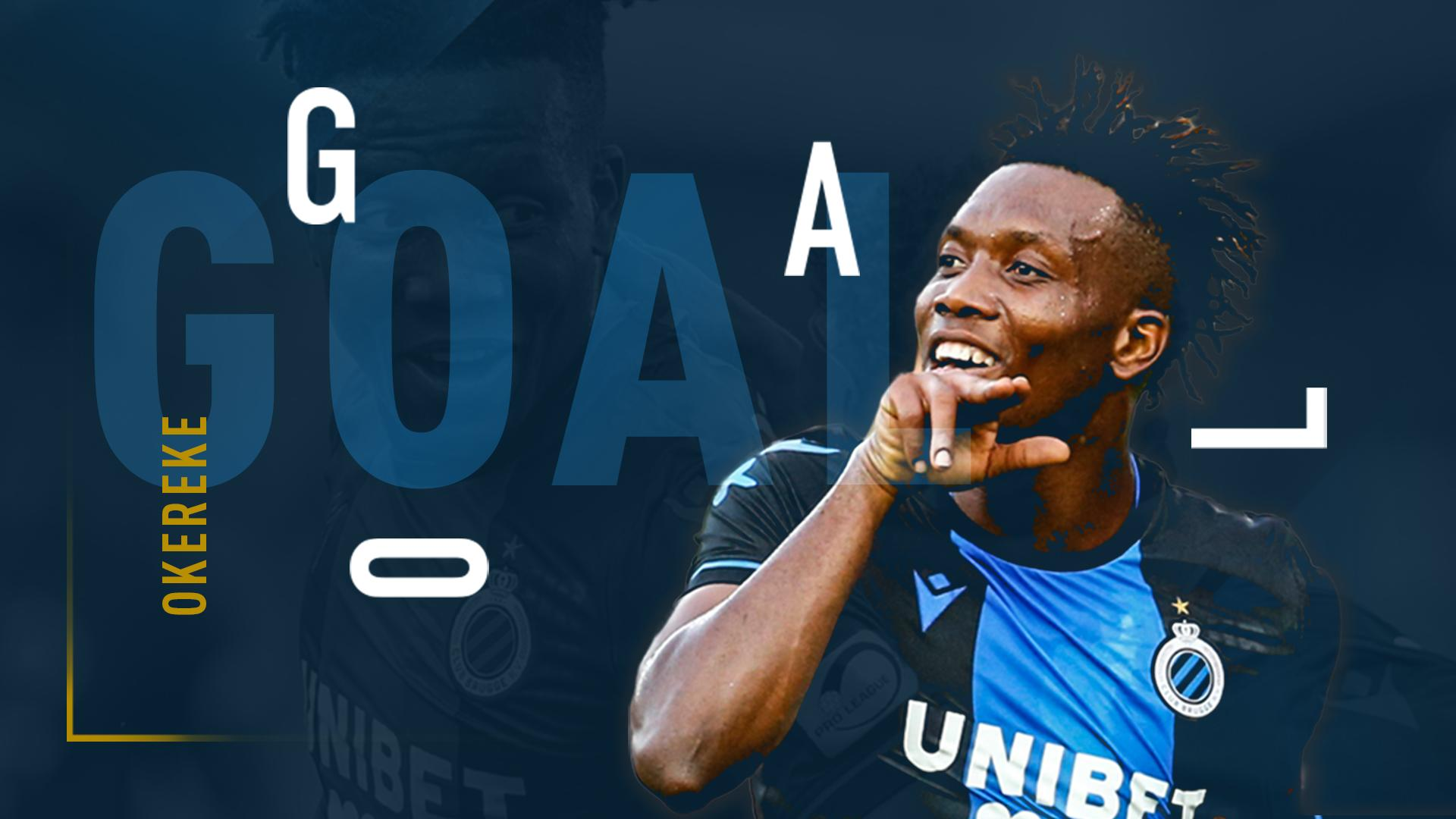 Okereke On Target In 3rd Consecutive Game In Club Brugge's Win At Oostende