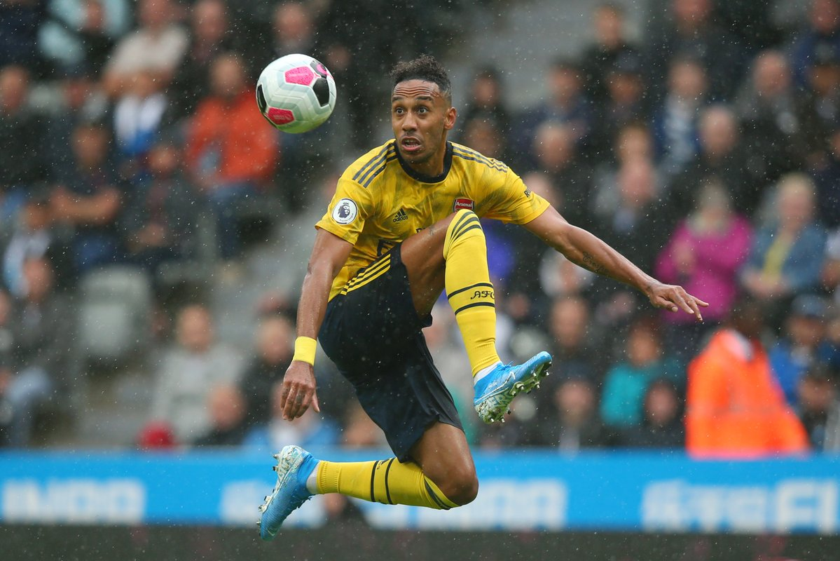 Aubameyang: My Partnership With Lacazette, Pepe In Arsenal Attack Will Be 'Crazy'