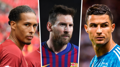 Messi, Ronaldo, Van Dijk nominated for UEFA men's player of the year award