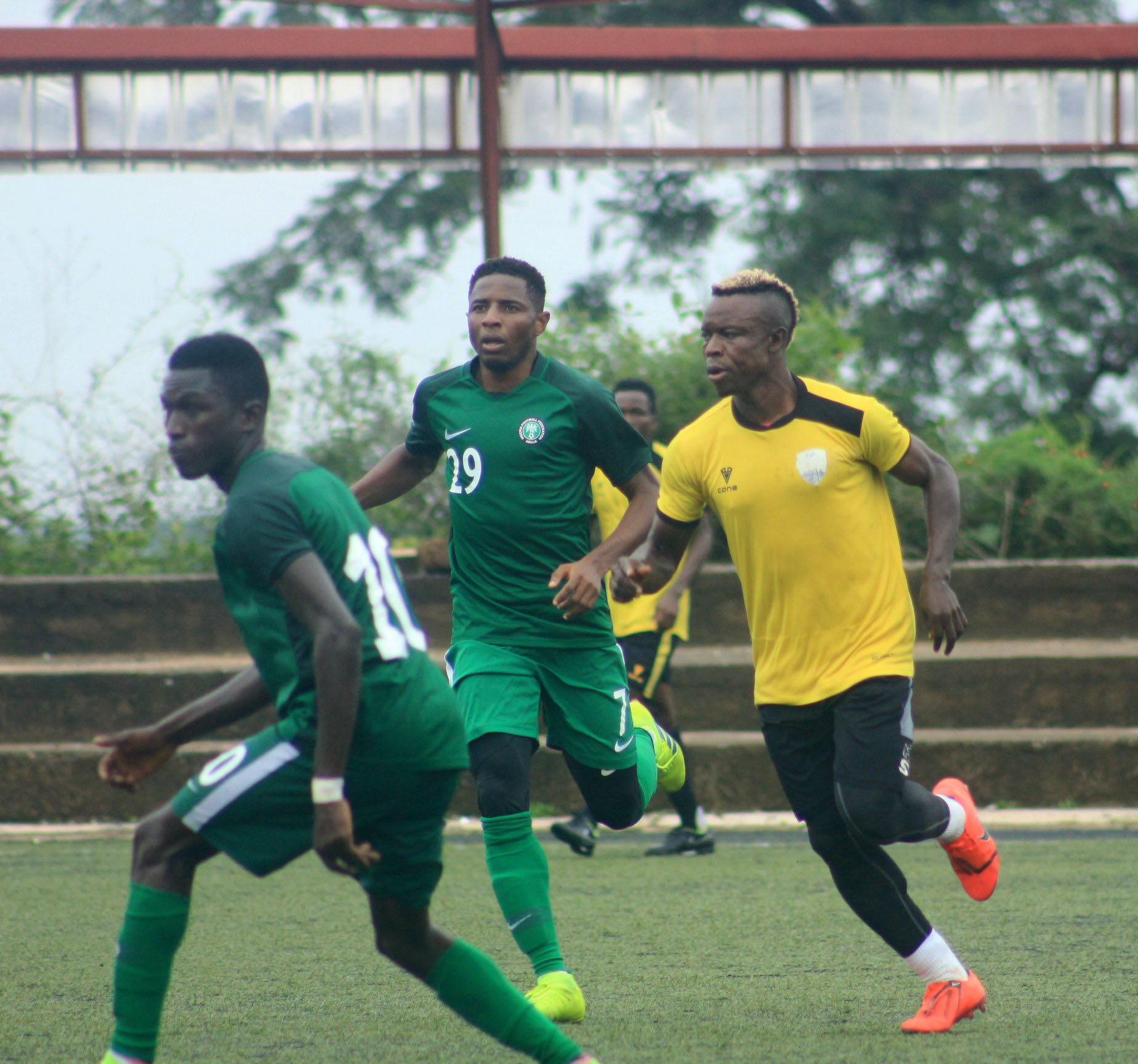 12th AAG: Flying Eagles Pip South Africa 2-1, Face Morocco Friday