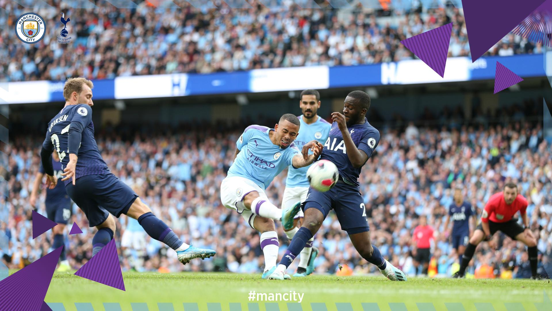 Man City,  Spurs Share Spoils At The Etihad in 2-2 Draw