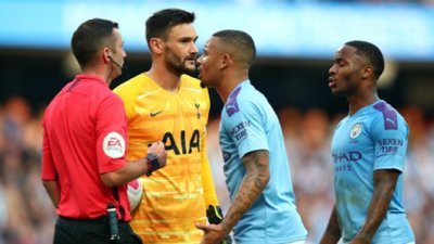 Guardiola Unhappy With Refereeing Inconsistencies In Man City draw vs Spurs