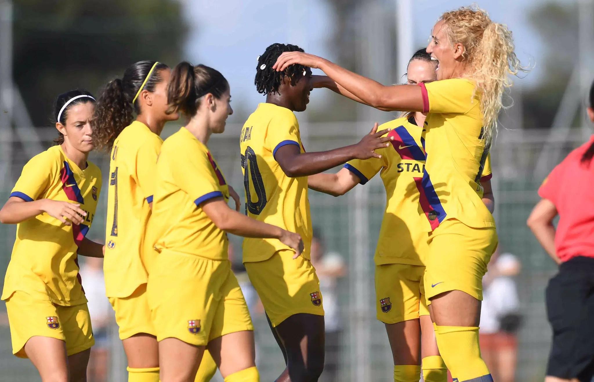 Oshoala Nets 6th Pre-Season Goal As Barcelona Ladies Pip Montpellier 1-0