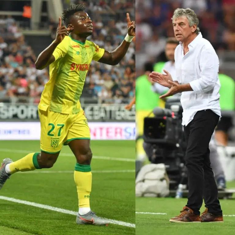 Nantes Coach, Gourcuff: Simon Is The Creative Player We Needed