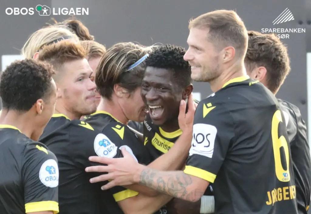 Aremu Goes For More Goals In IK Start Hopeful Promotion Bid
