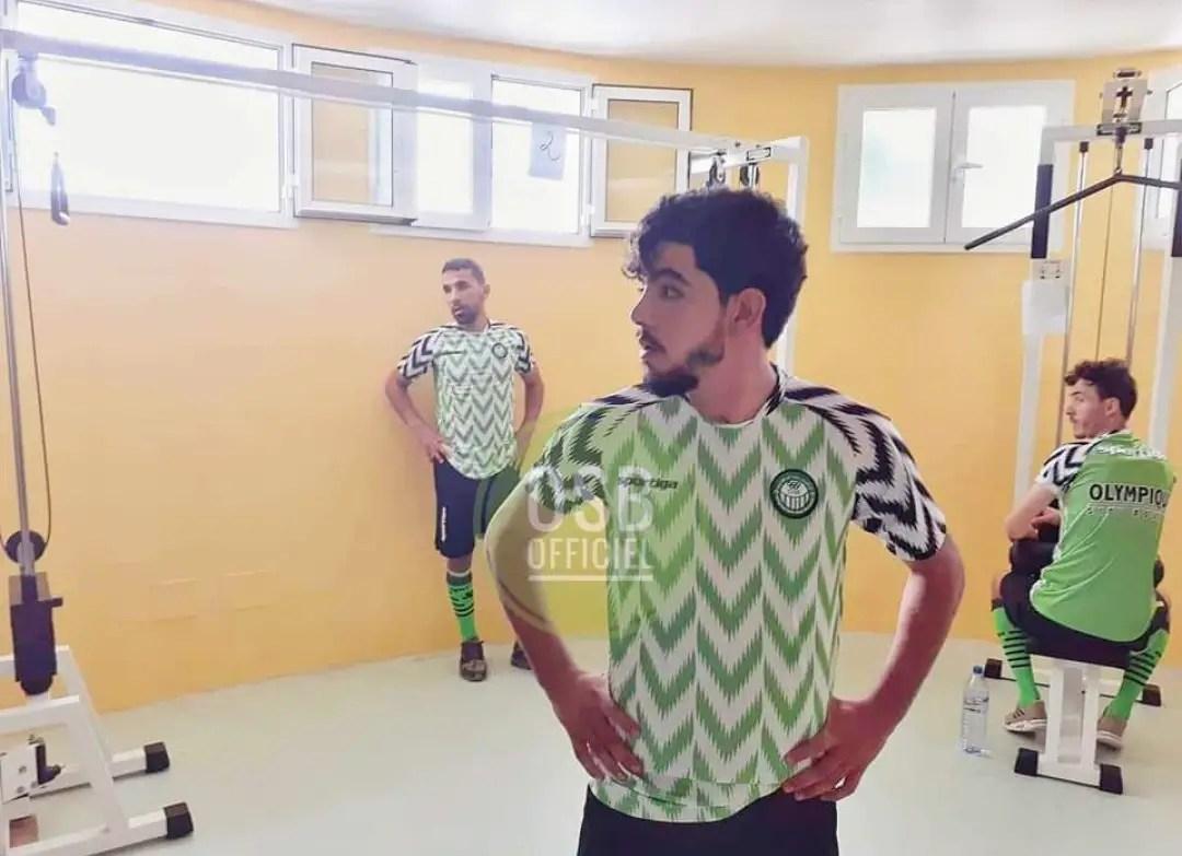 Tunisian Club EO Sidi Bouzid Unveil Nigeria Lookalike Jersey