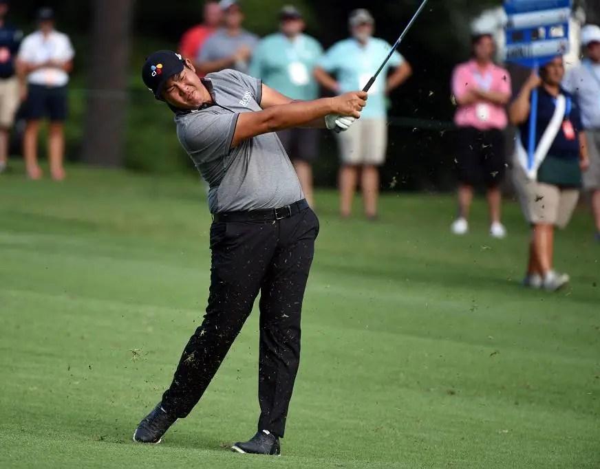 An Edges Closer To Maiden PGA Title