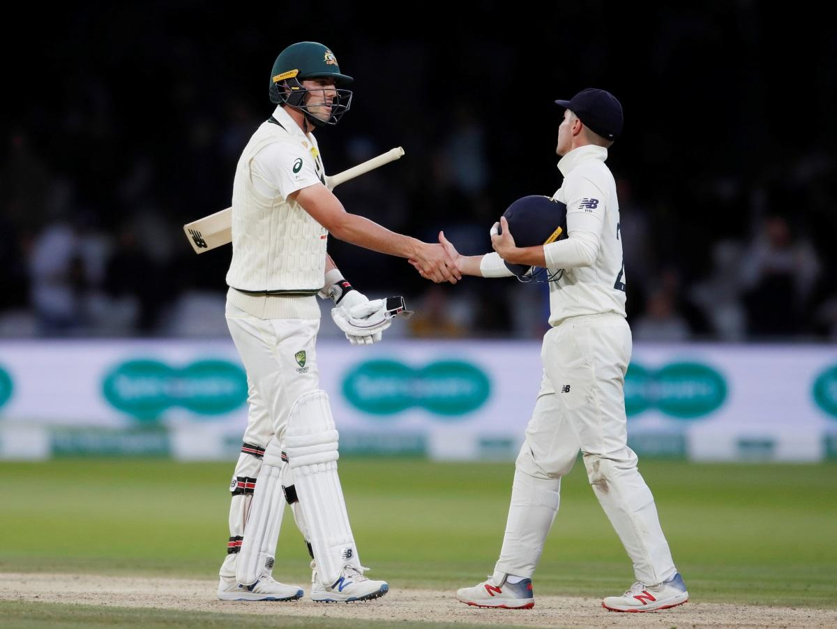 Aussies Hold On For Lord's Draw