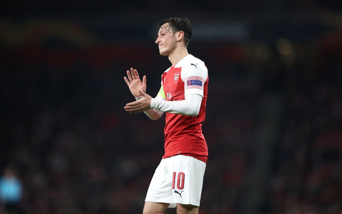 Emery Rules Out Ozil Exit