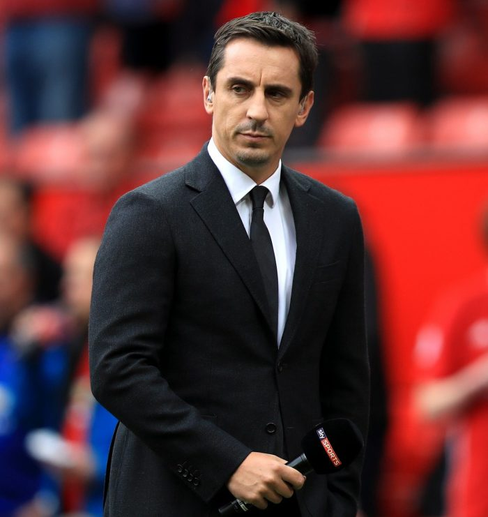 Gary Neville Says Man Utd Are Still A Long Way Off Two Old Rivals