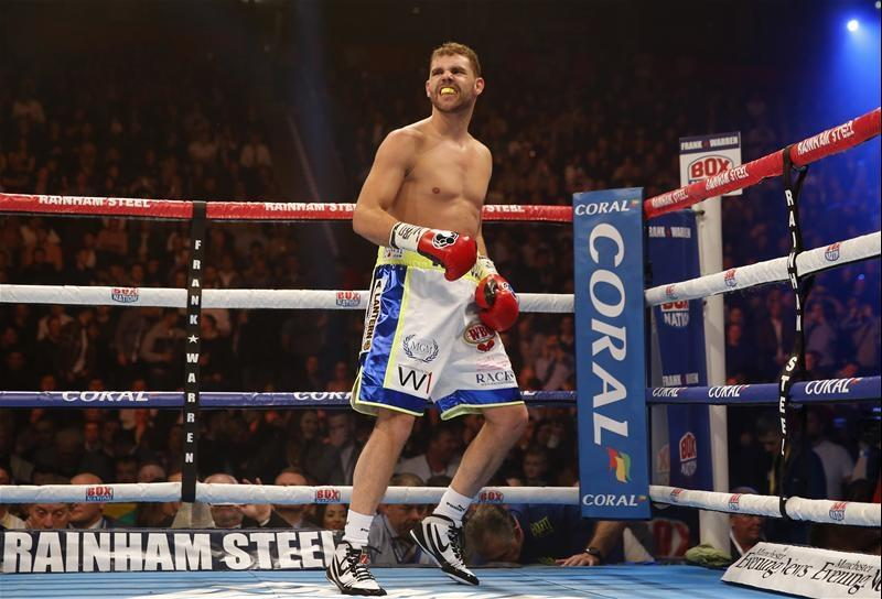 Saunders Confirms Matchroom Move