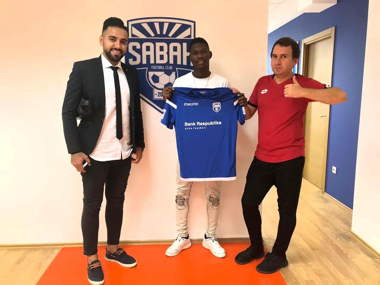 Akpotu Joins Azerbaijani Club Sabah FC  From Praise King Academy