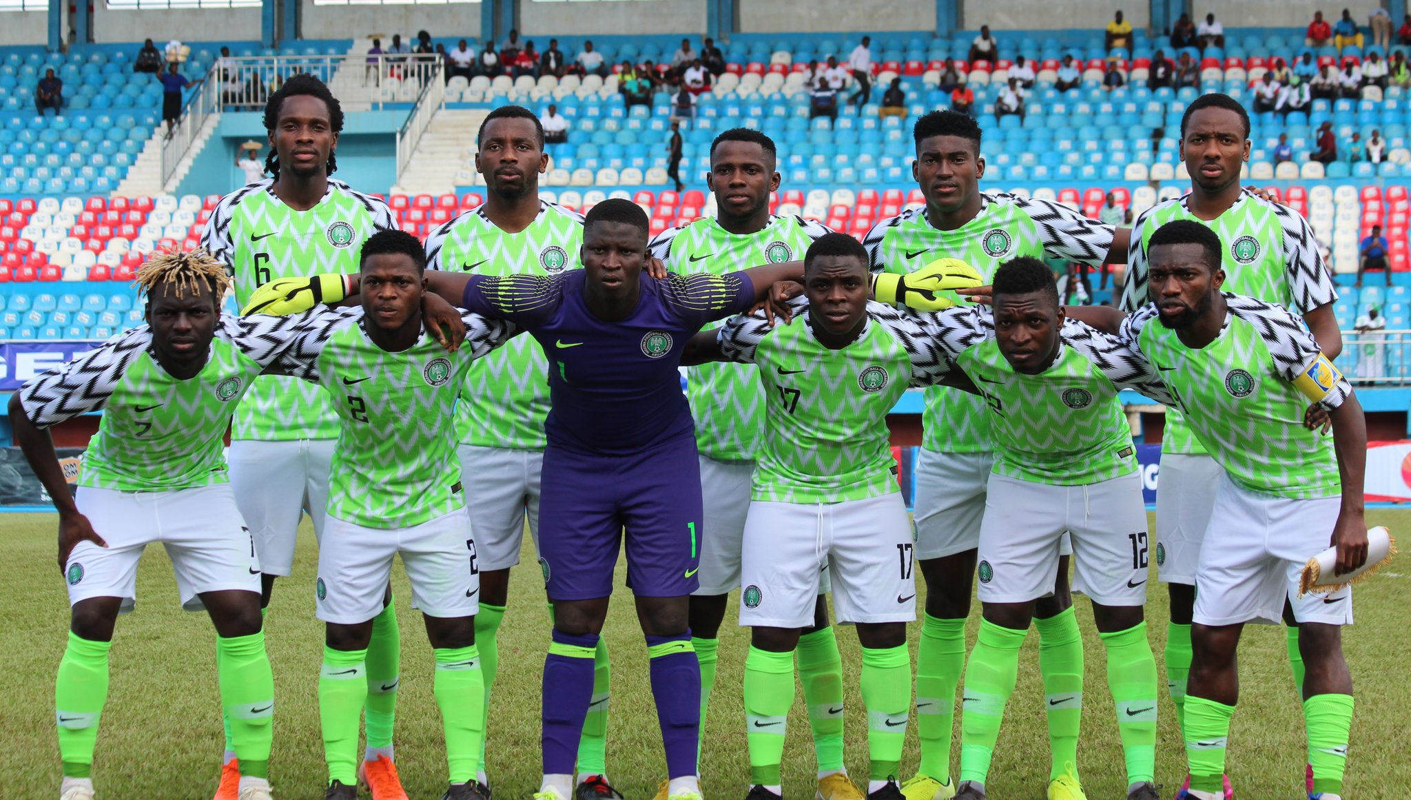 Amapakabo Confident Olympic Eagles Will Shine At 2019 U-23 AFCON