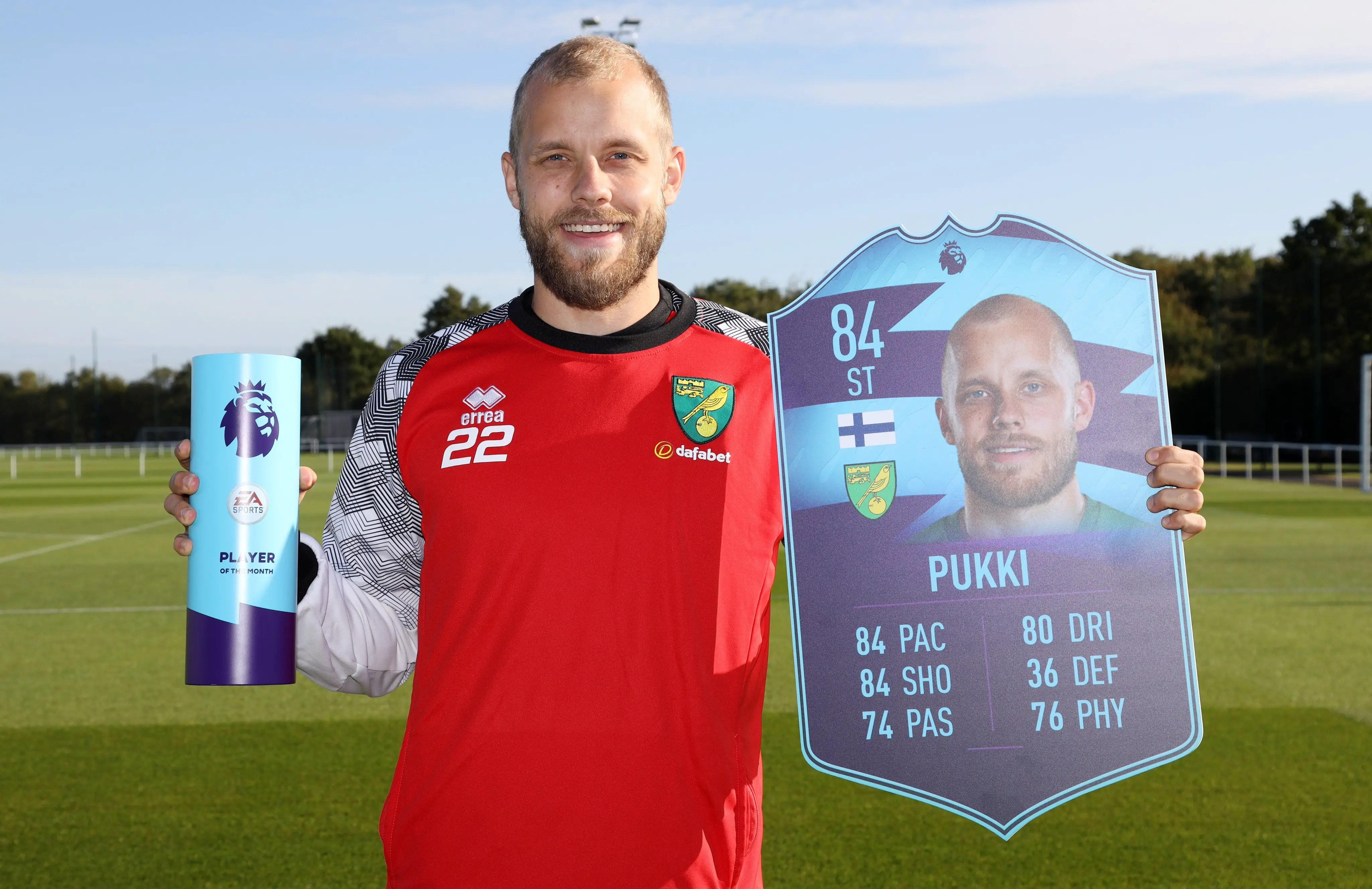 Pukki,  Klopp Win August Premier League Awards
