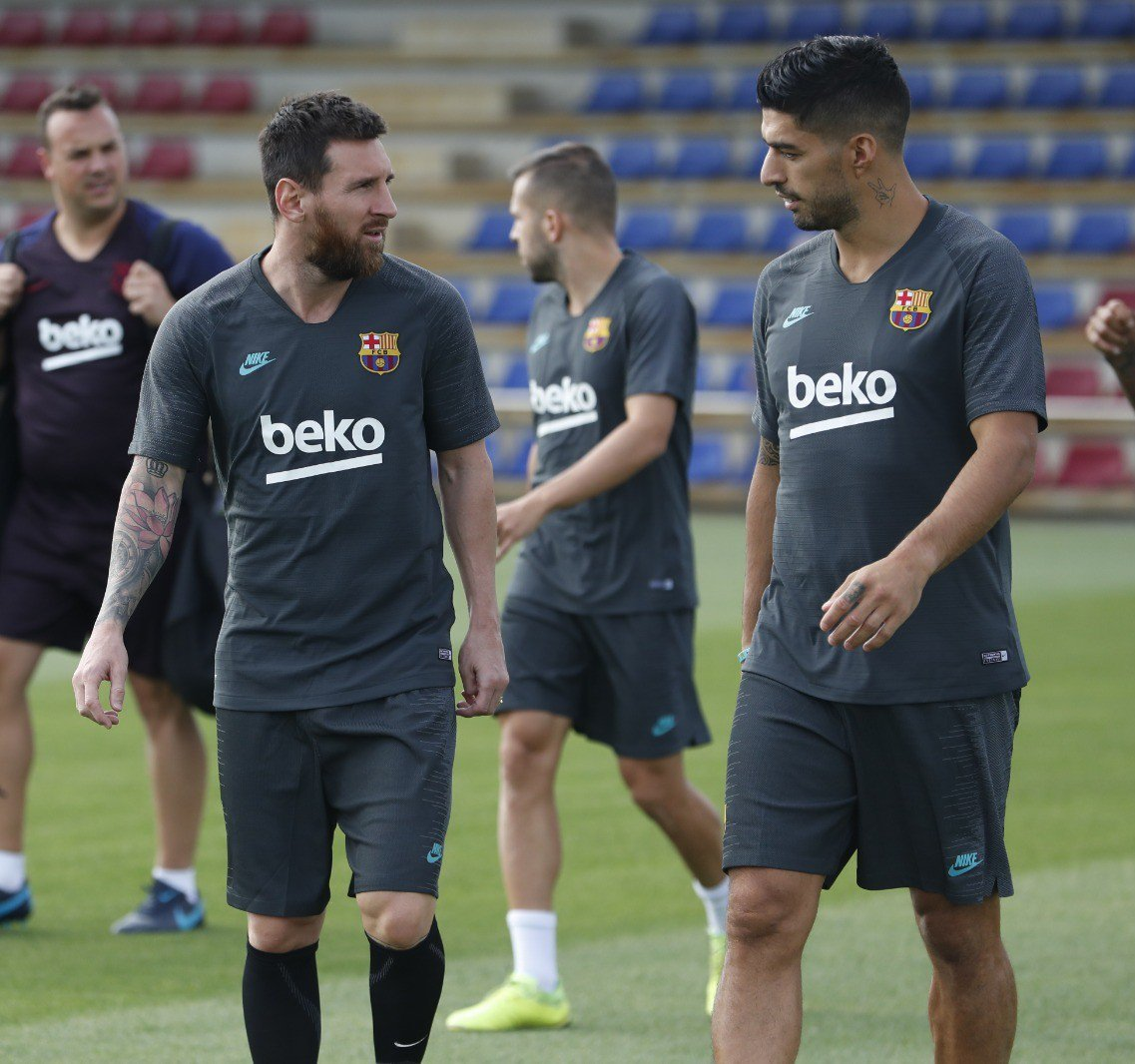 Messi Listed For Barca  Champions League Away Clash Against Dortmund