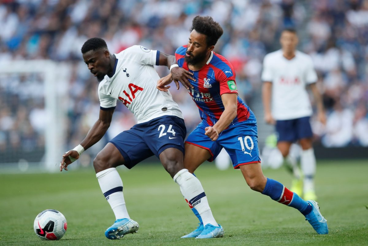 Aurier Now 'Happy' To Stay With Spurs
