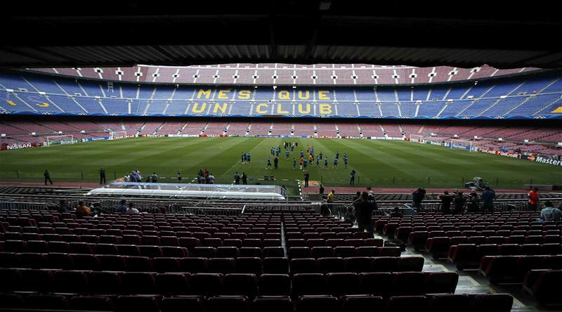 Barca Ace Told To Stay Calm