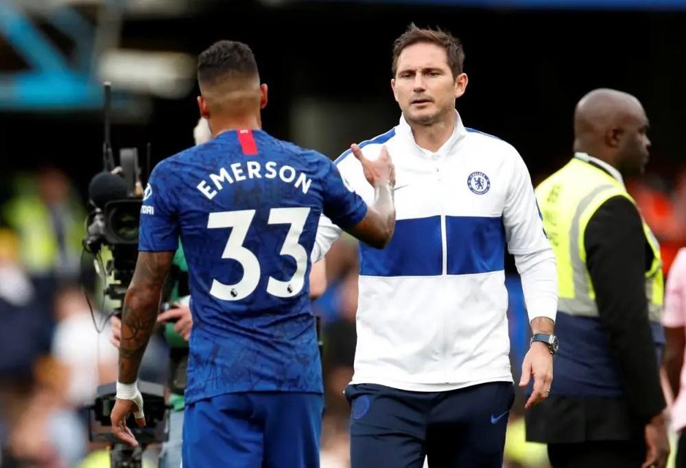 Emerson Allays Injury Fears