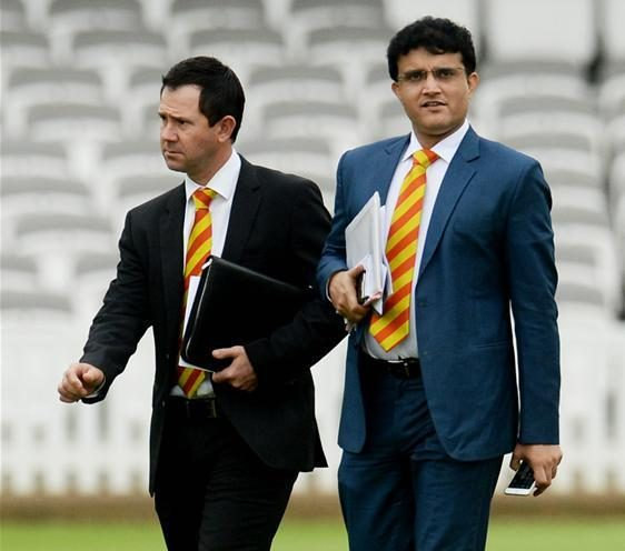 Ganguly Tight-Lipped Over India Coach Role