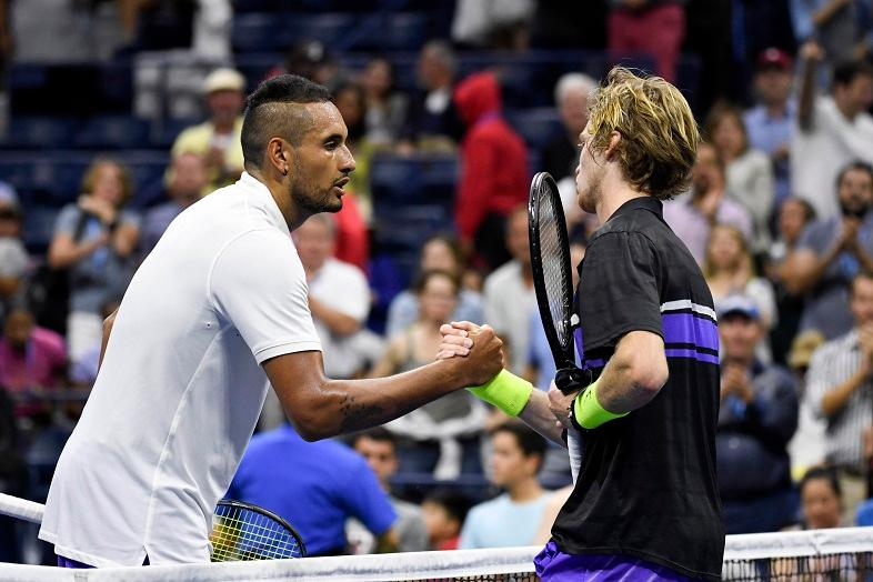 Kyrgios Set For Spell On Sidelines