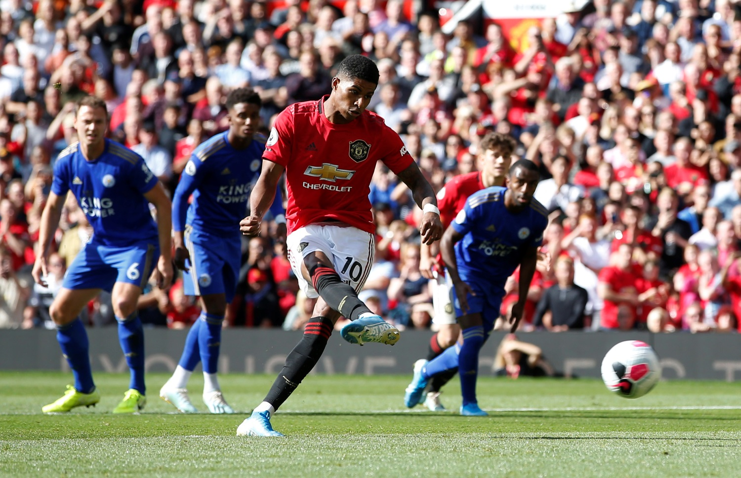 Manchester United 1-0 Leicester City