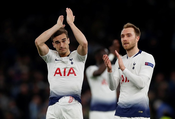Winks Thrilled Eriksen Has Stayed Put