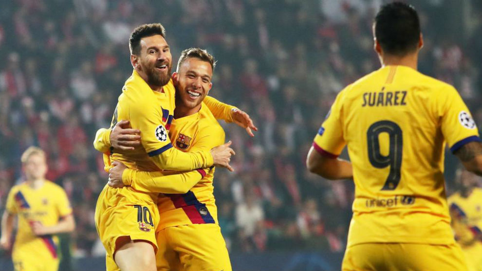 """Barca Coach Valverde Celebrates Talismanic Messi """"Who Can Decide Any Game"""""""