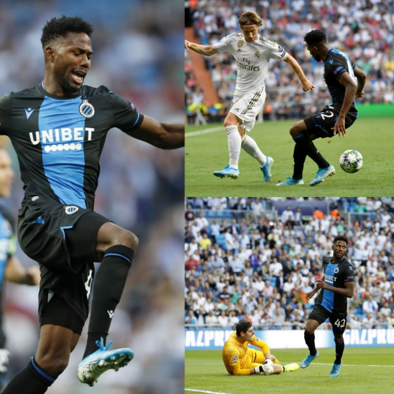 UCL: Dennis Bags Brace As Club Brugge Earn 2-2 Draw At Real Madrid