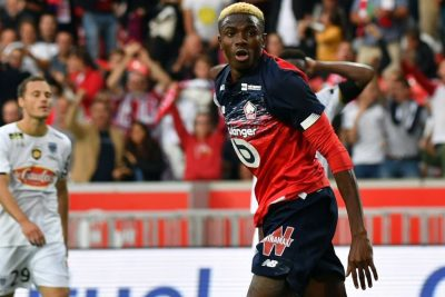 Osimhen Scores as Lille lose at home to Chelsea