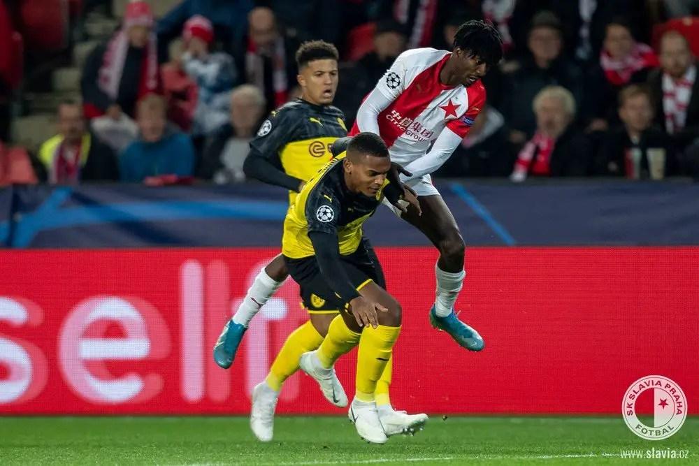 Olayinka: Slavia Prague Must Learn From Home Defeat To Dortmund