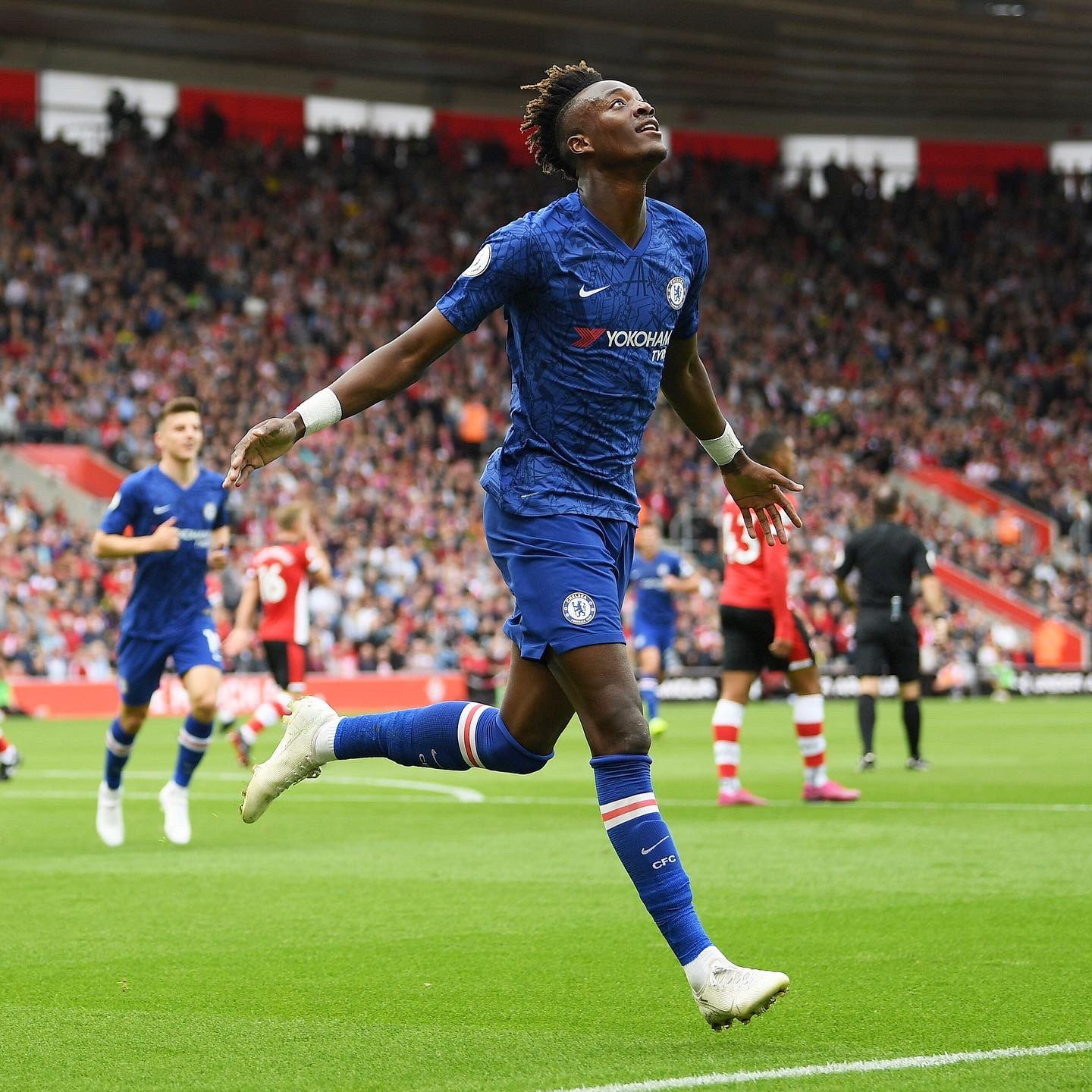 Lampard Hails 'Incredible Abraham's Goal' In Chelsea's 4-1 Win At Southampton