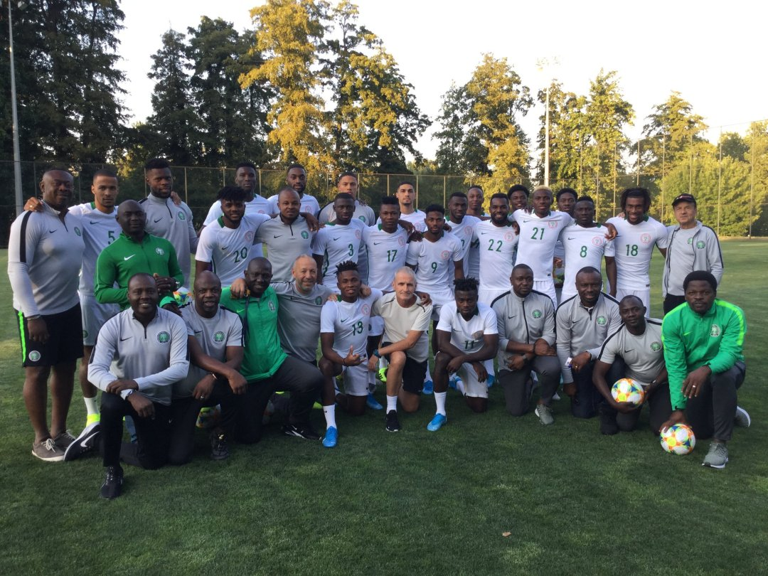 Super Eagles  Arrive Singapore Wednesday  For Brazil  Friendly