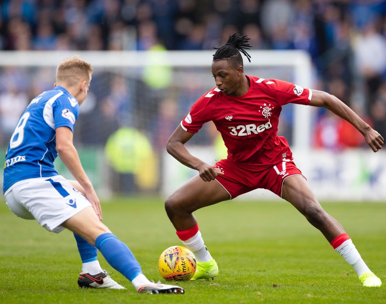 Aribo Eager To Keep Improving On Top Form For Rangers and Nigeria