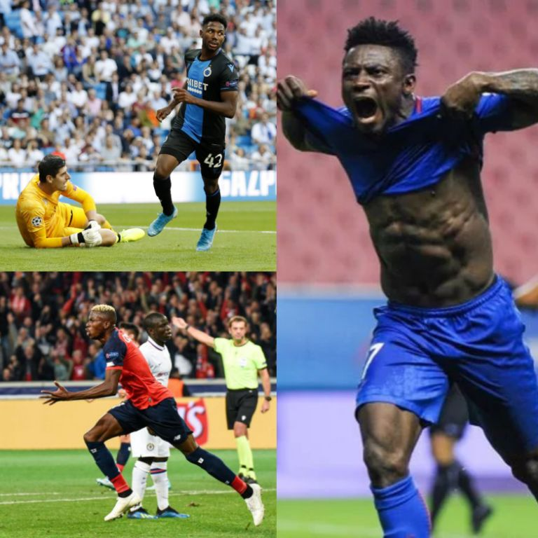 Dennis, Osimhen Chase Martins' Champions League Goal Record