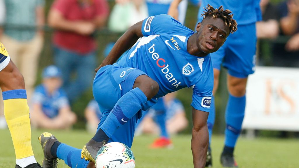 UCL: Odey On Target In Genk Loss To Liverpool; Olayinka Scores Own Goal Vs Barca, Osimhen Caged