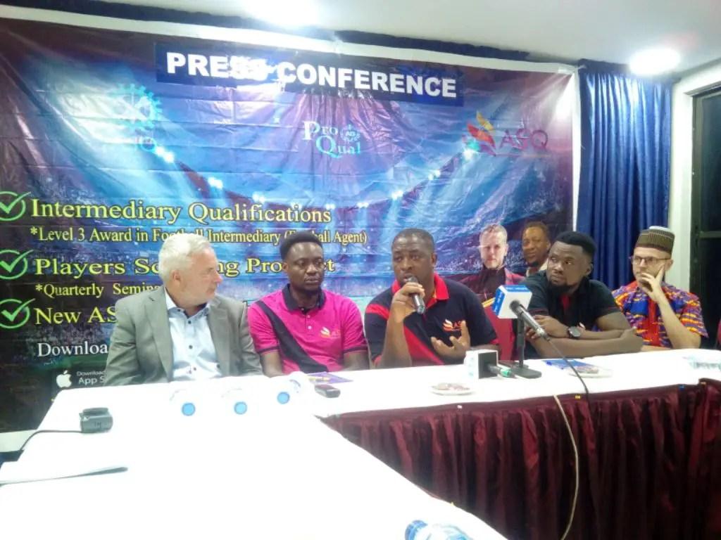 ASQ (UK) Set For Football Agents Development Training In Nigeria