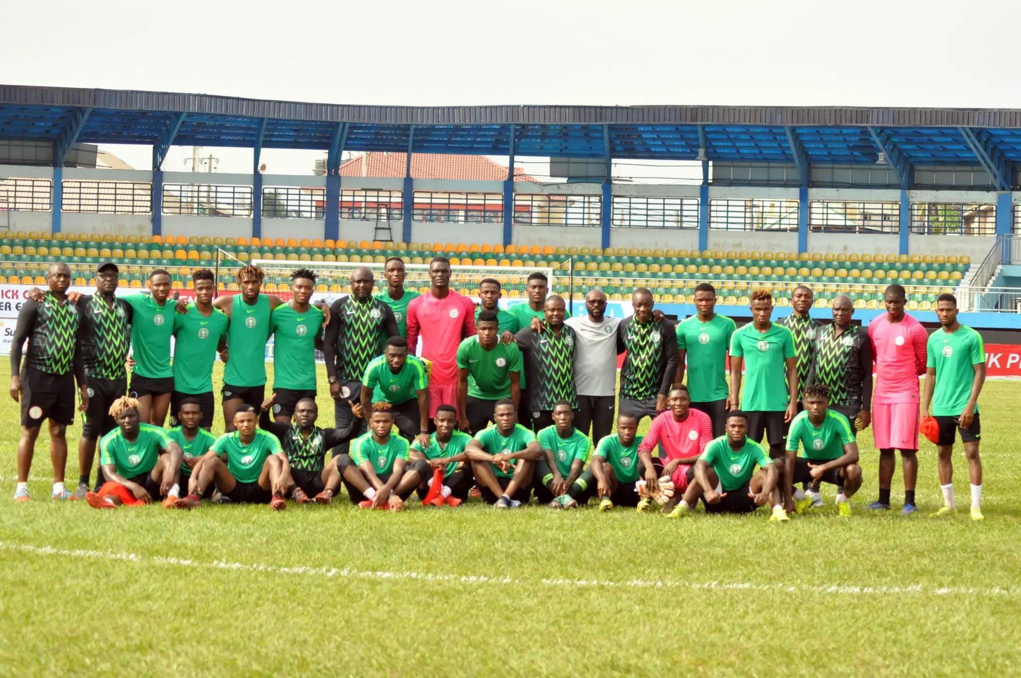 Amapakabo Optimistic As Olympic Eagles Resume Training Ahead U-23 AFCON Title Defence