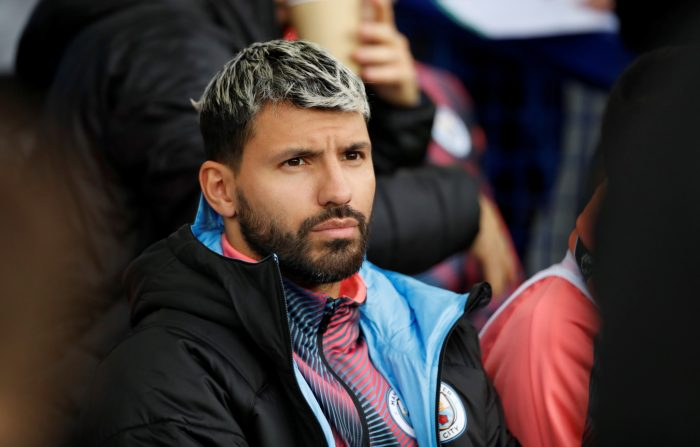 Aguero Relief For City Ahead Of Eagles Clash