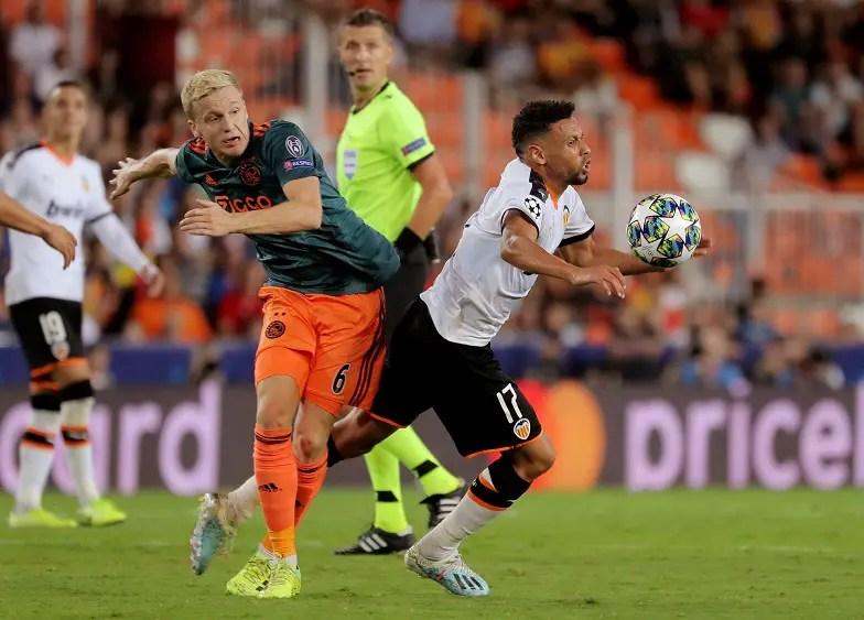 Ajax Braced For Inter Interest In Van De Beek