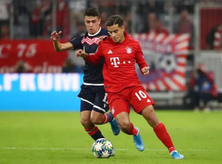 Bayern Handed Coutinho Boost As Barca Make Decision
