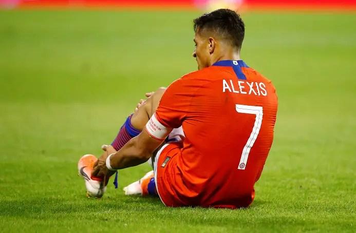 Inter Sweating Over Sanchez After International Injury