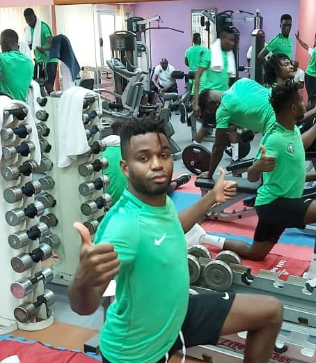 Olympic Eagles Shape Up In Ismailia Gym Ahead U-23 AFCON