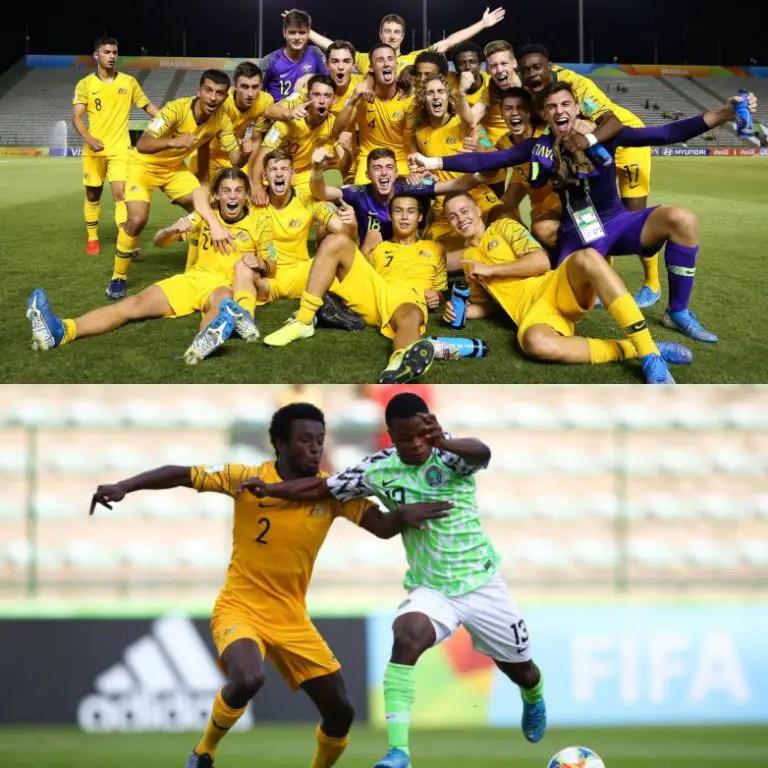 Australia Coach, FA Celebrate 'Fantastic Win' Against 'Excellent Team' Golden Eaglets