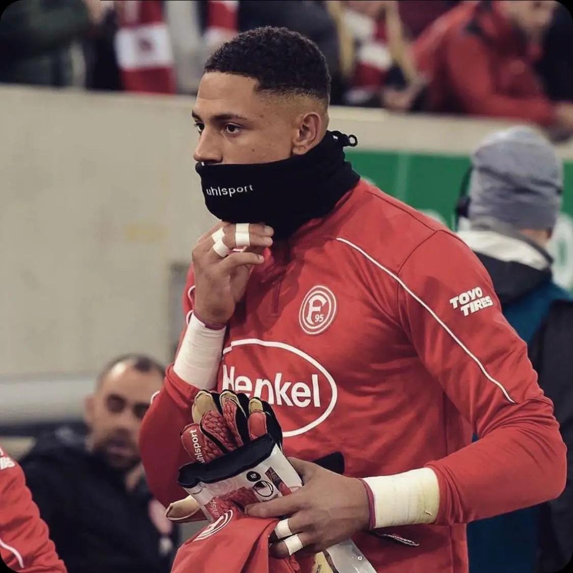 Okoye Celebrates Dusseldorf Win Vs Erzgebirge To Reach DFB Pokal 3rd Round