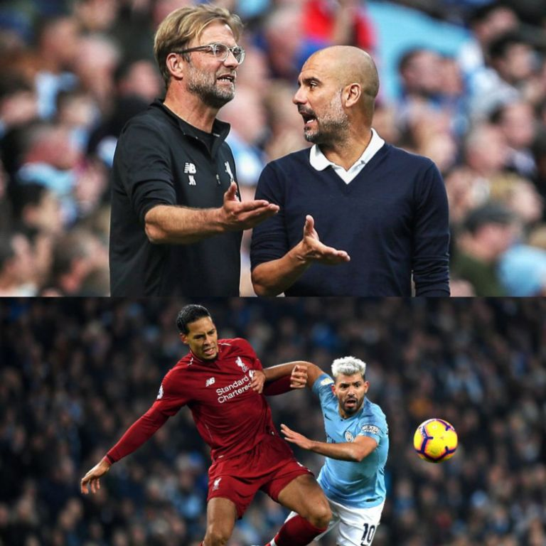 Guardiola Wary of 'Best Title Contenders' Liverpool At 'Toughest Stadium' Anfield