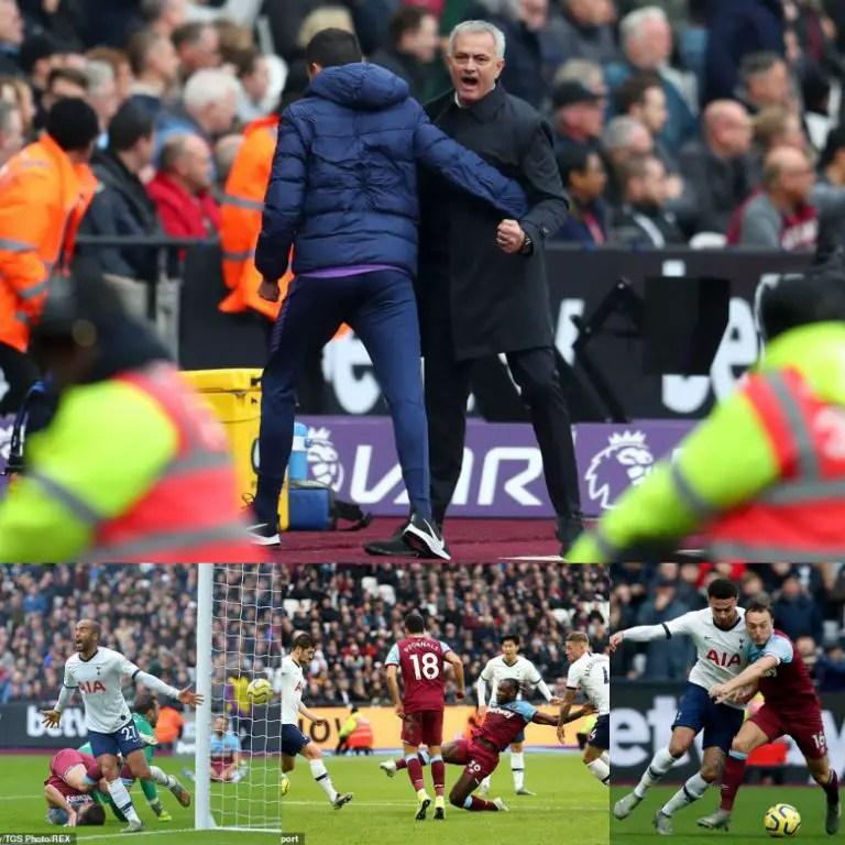 Mourinho Makes Winning Start As Tottenhan Triumph 3-2 At West Ham